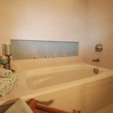 Eclectic Bathroom by Deb Bayless - Design for Keeps