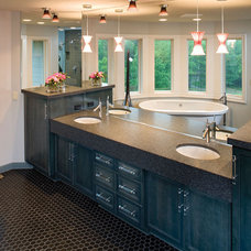 Contemporary Bathroom by House Plans and More