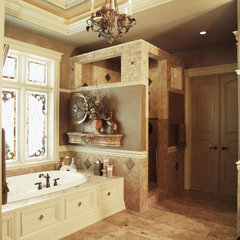 traditional bathroom by House Plans and More