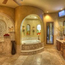 Contemporary Bathroom by Sterling Custom Homes