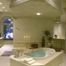 Mediterranean Bathroom by Sterling Custom Homes
