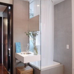 contemporary bathroom by PLAN architecture | design | strategy