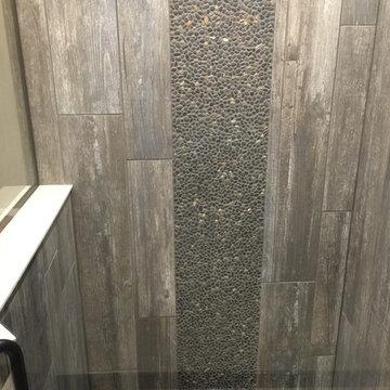 Plank & Pebble Guest Bath