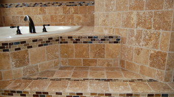 Plano Natural Stone Bathroom