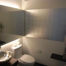 Modern Bathroom by Kim Depole Design Inc
