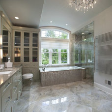 Contemporary Bathroom by Main Street Cabinet Co.