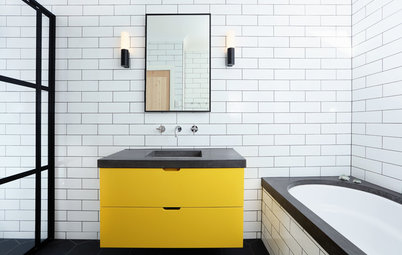 Room of the Week: A Ray of Sunshine in a Children's Bathroom