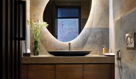 10 Spectacular Ideas for Backlit Bathroom Mirrors