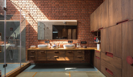 10 Indian Bathrooms Where Bespoke Storage Rules With Style