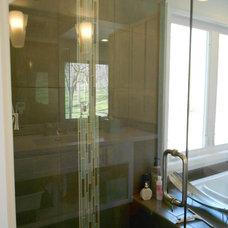 Contemporary Bathroom by Kathryn Peltier Design
