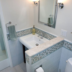 tropical bathroom by Bill Fry Construction - Wm. H. Fry Const. Co.
