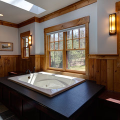 traditional bathroom by Studio 810 Design/Build
