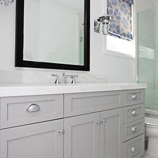 Beach Style Bathroom by Brooke Wagner Design