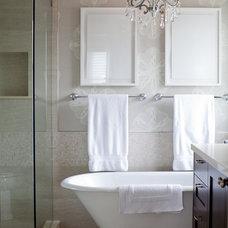 Traditional Bathroom by Tanya Schoenroth Design