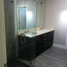 Modern Bathroom by Welby Construction Management
