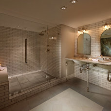Transitional Bathroom by RS3 DESIGNS