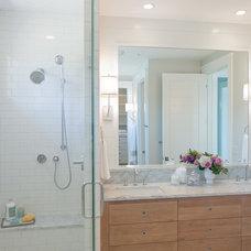 Beach Style Bathroom by J Visser Design