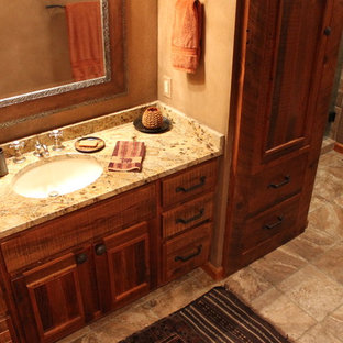 Rustic Bathroom Cabinets Houzz