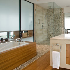 contemporary bathroom tile by Design For Less