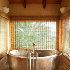 tropical bathroom by Maui Architectural Group Inc