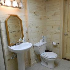 Traditional Bathroom by Decker Building & Developing LLC.