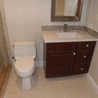 Kewamee Transitional Bathroom Orange County By Spinnaker Development