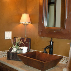 Traditional Bathroom by Campbell Brown Construction