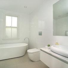 Contemporary Bathroom by Suzanne Allen