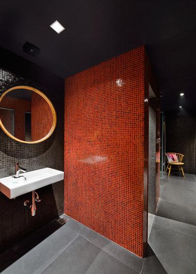 Contemporary Bathroom by Abin Design Studio