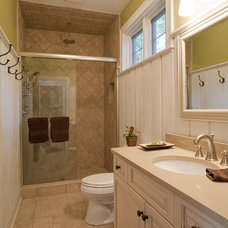 Traditional Bathroom by Lellbach Builders