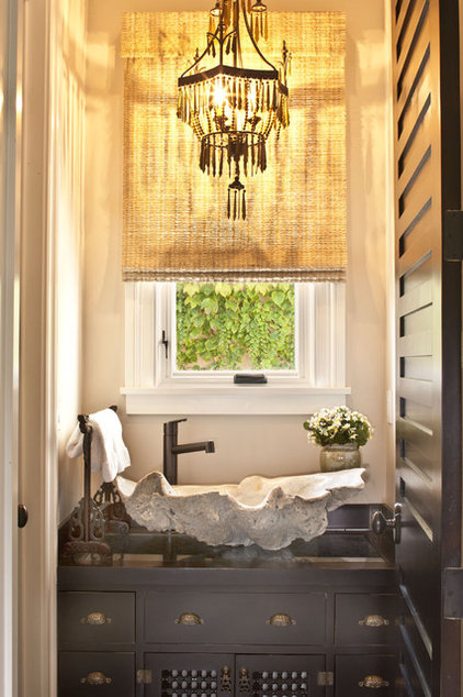 Eclectic Bathroom by Dayna Katlin Interiors