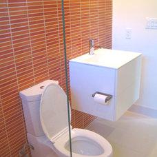 Contemporary Bathroom by Artistic Stone Kitchen & Bath Inc