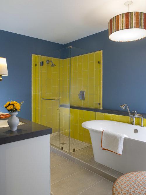 Bathroom Design Ideas Renovations Amp Photos With Yellow