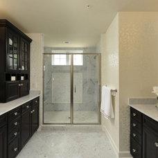 Modern Bathroom by Laura Manning Bendik
