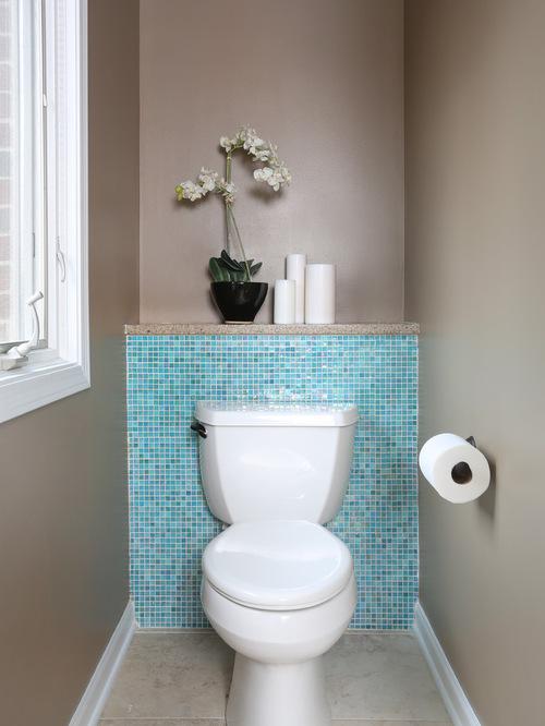 Tile Behind Toilet | Houzz