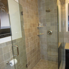 Traditional Bathroom by Ideal Tile of Stamford