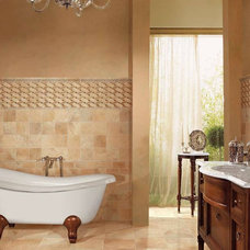 Traditional Bathroom by Tiles Unlimited, Inc.