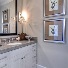 traditional bathroom by Manning Homes