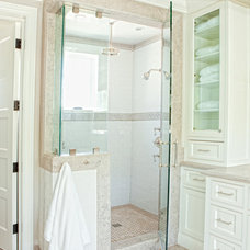 Traditional Bathroom by William Guidero Planning and Design