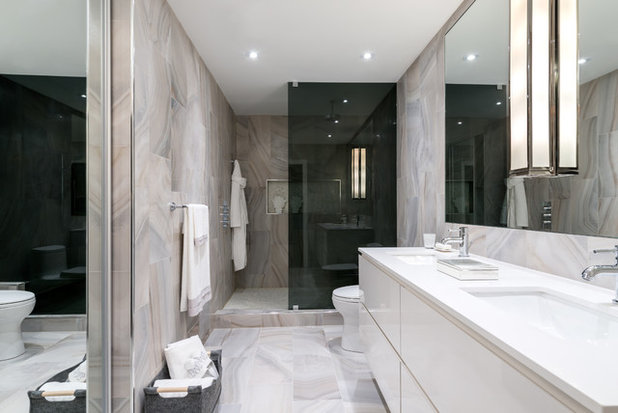 Transitional Bathroom by Toronto Interior Design Group | Yanic Simard