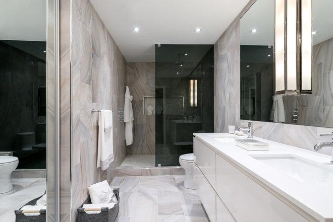 Transitional Bathroom by Toronto Interior Design Group | Yanic Simard