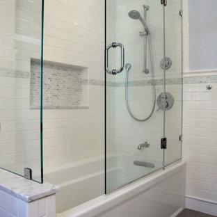 Port Washington White & Gray Bathroom
