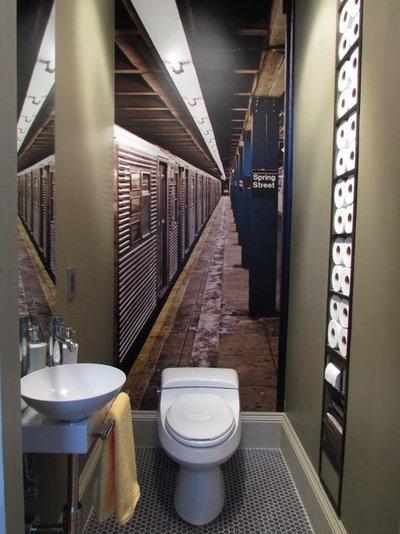 Comment changer sa d co avec du papier peint original for Changer sa salle de bain