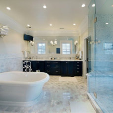 Contemporary Bathroom by Angela Otten; WmOhs Showrooms Inc
