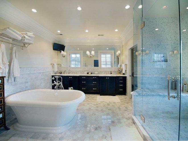 Contemporary Bathroom by Angela Otten; WmOhs Showrooms Inc