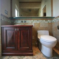 Mediterranean Bathroom by bm studio