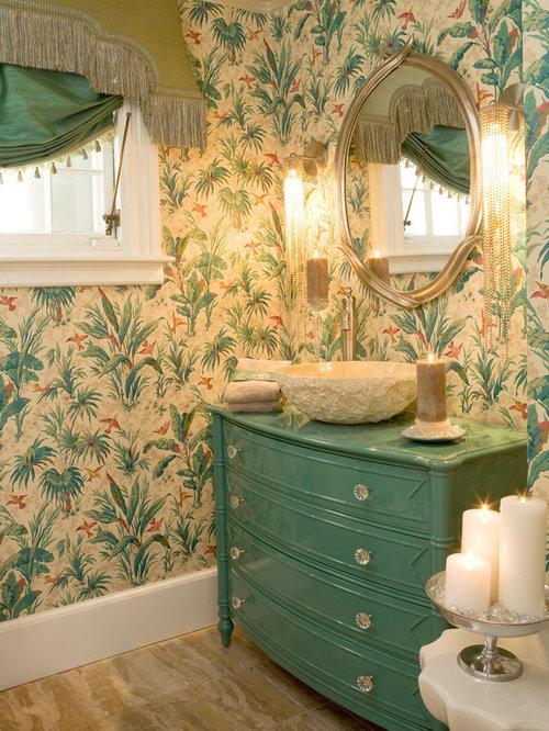 Bathroom Sink Turning Yellow dresser turned into vanity | houzz