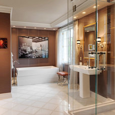 Contemporary Bathroom by Edmunds Studios Photography, Inc.