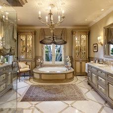 Traditional Bathroom by Jennifer Bevan Interiors