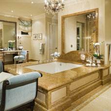 Traditional Bathroom by Jennifer Bevan Interiors